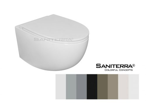 Toilet wall mounted Saniterra
