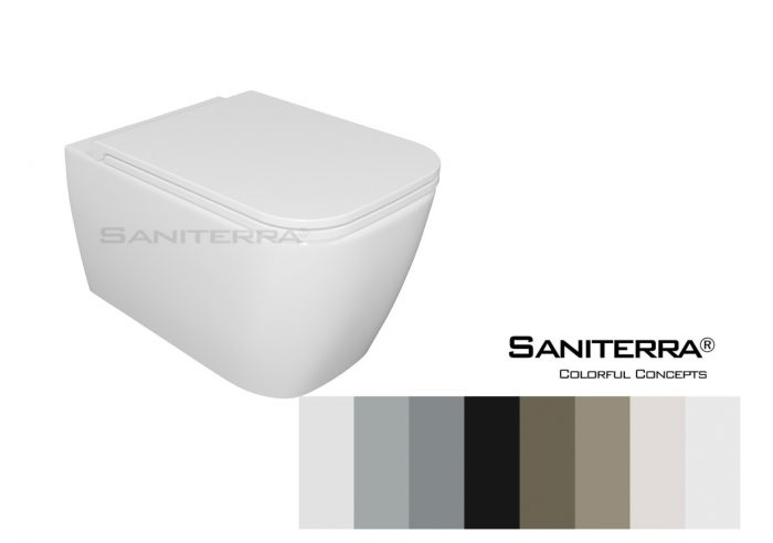 212011-Toilet Wall Mounted Tuscano-colorful