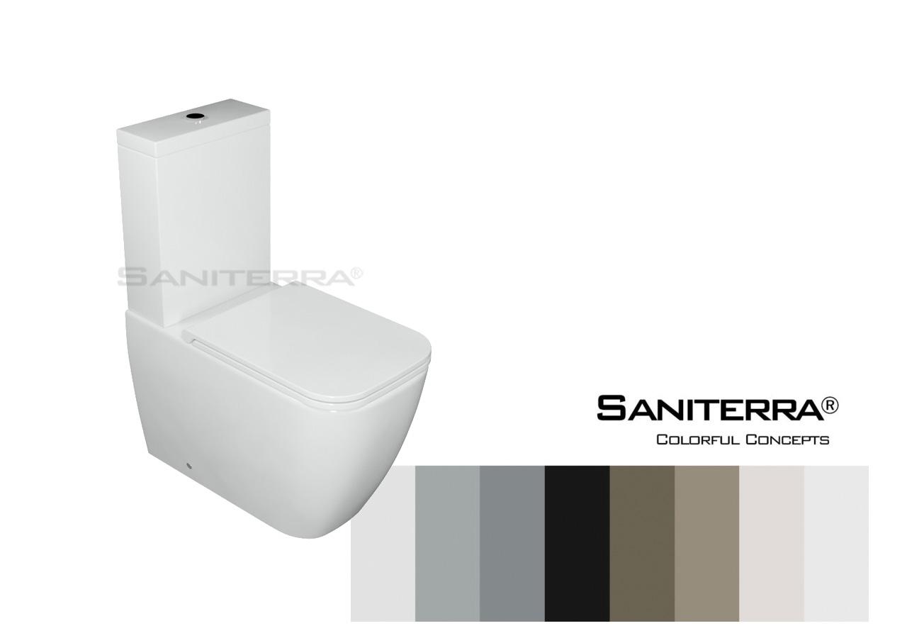 #222011-Toilet Close Coupled Tuscano-Colorful