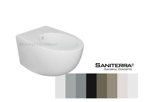 611011-Bidet Wall Mounted milano Bull-colorful