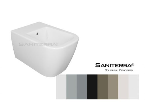 612011-Bidet Wall Mounted tuscano-Colorful