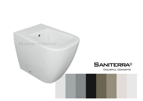 #632011-Floor Standing Bidet Tusano-Colorful