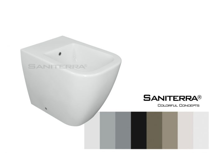 632011-Floor Standing Bidet Tusano-Colorful