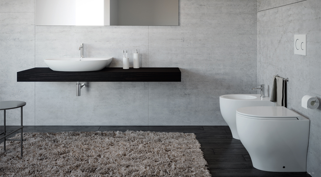 Ilrated Rules Of Good Bathroom Design