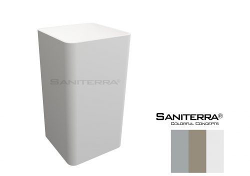 SOLID SURFACE wash bowl free standing saniterra
