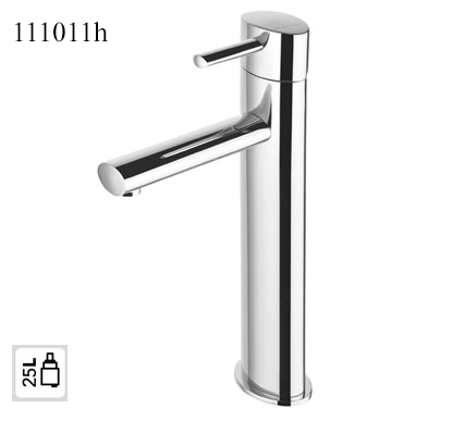 111011h-high washbasin mixer Tap oval