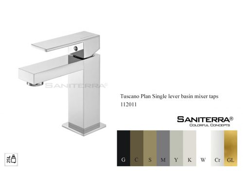 112011-single lever basin mixer faucet Plan