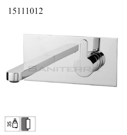 15111012-concealed washbasin mixer braca