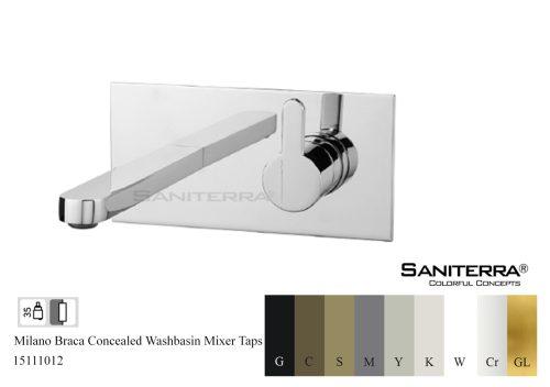 15111012-concealed washbasin mixer tap Braca