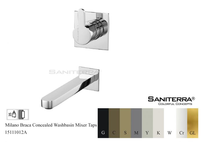 15111012A-concealed washbasin mixer taps Braca