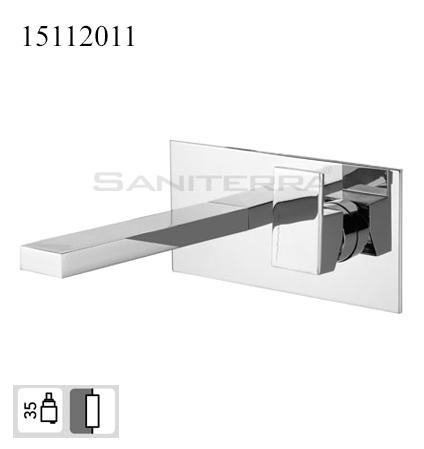 15112011-concealed washbasin mixer Plan