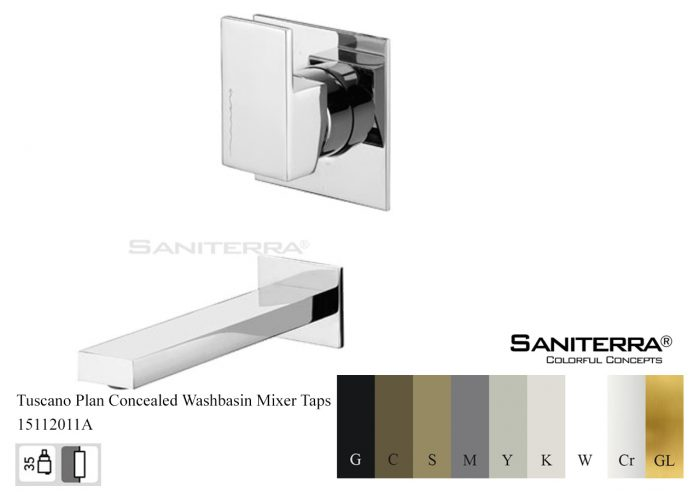 15112011A-concealed washbasin Mixer tap Plan