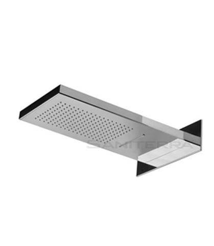16202102D-brass waterfall dual position shower head city