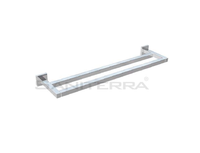54201102X-brass double towel rail plan