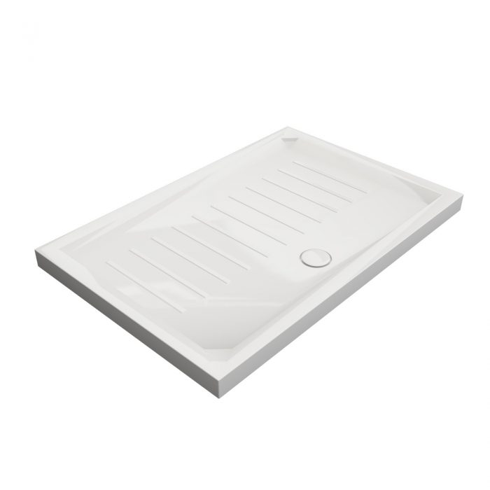 solid surface shower tray