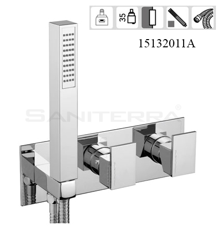 15132011A-concealed bath mixer plan