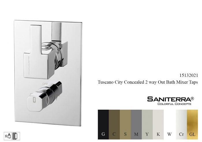 15132021-concealed bath Faucet City 2 way