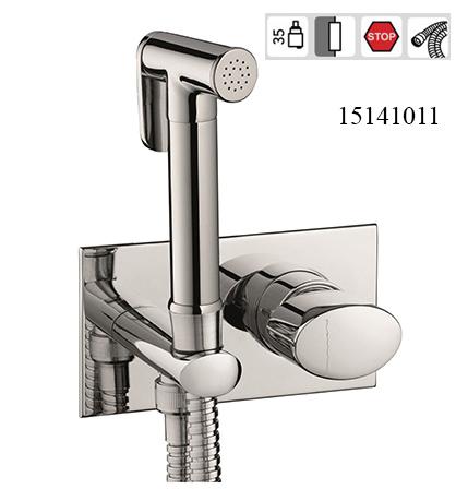 15141011-concealed bidet mixer oval