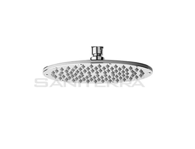 16101100XX-Round brass shower head oval