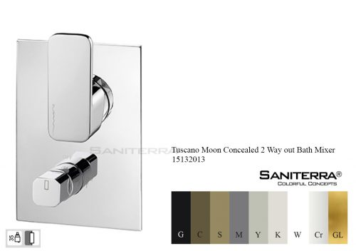 15132013-Concealed Bath Mixer valve 2 way Moon