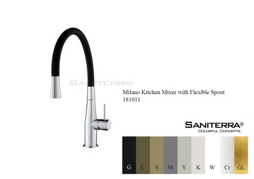 181011-Kitchen Mixer with Flexible Spout
