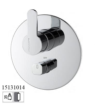 15131014-concealed bath mixer taps 2 way Eko