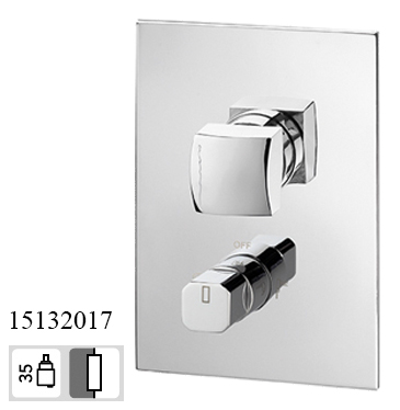 15132017-concealed 2 way Bath Mixer taps King