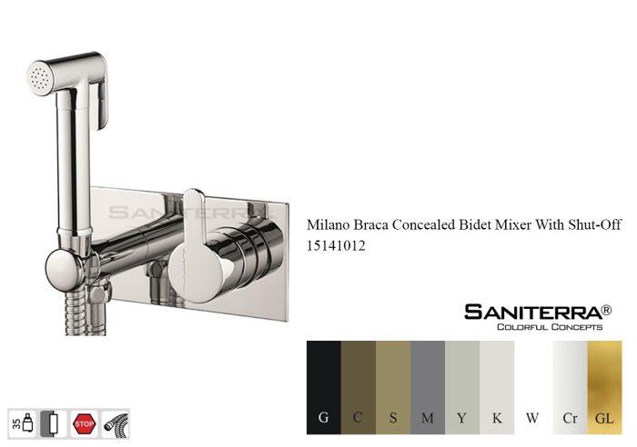 15141012-concealed bidet faucet braca