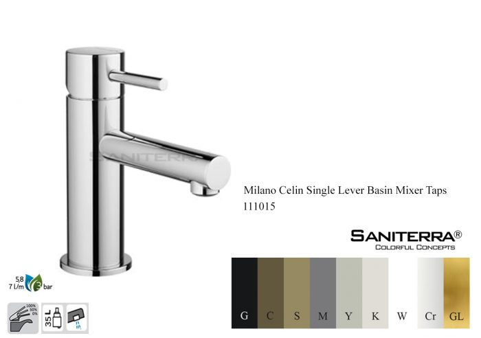 111015-washbasin mixer taps Milano Celin