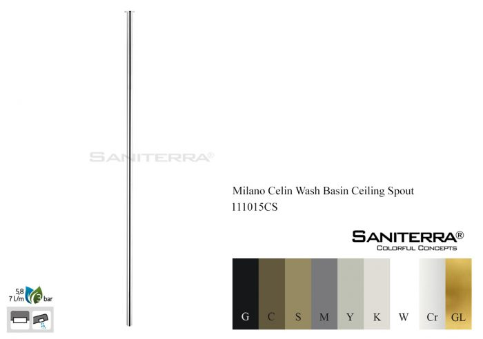 111015CS-wash basin ceiling spout Milano Celin