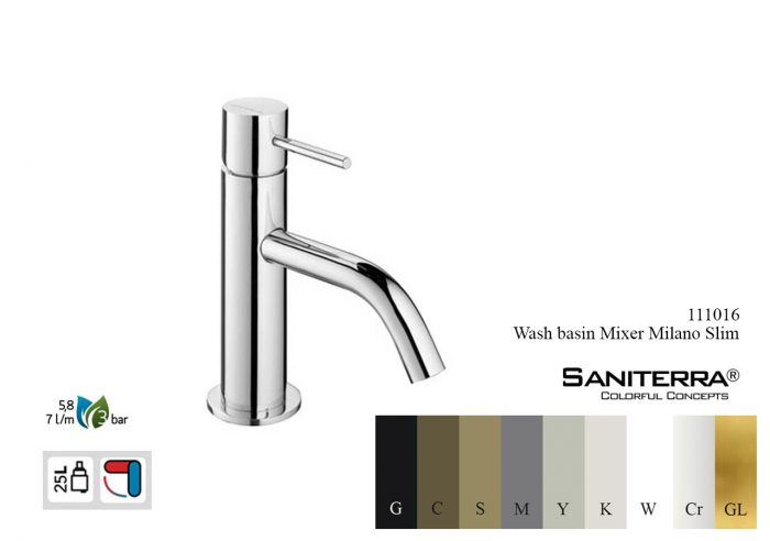 111016-wash basin mixer Slim