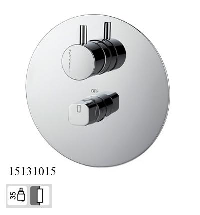 15131015-concealed 2 way bath mixer taps Celin