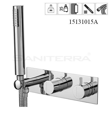 15131015-concealed 2-3 way bath mixer milano Celin