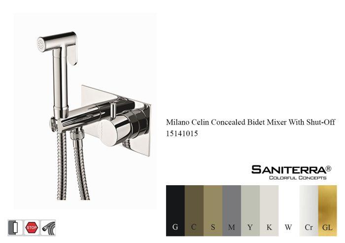 15141015-concealed bidet mixer taps Celin