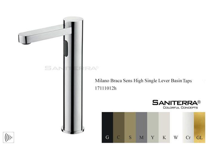 17111012h-Electronic Washbasin high Tap Braca sens