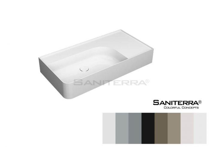 322057-Furniture Washbasin Single Hole Tuscano 950 mm