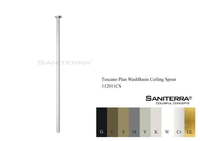 112011CS-WashBasin Ceiling Spout Tuscano plan