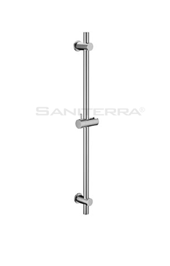 16101216-brass round SHOWER RAIL braca