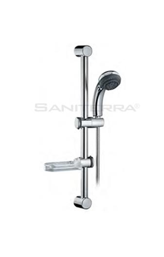 16101417-SHOWER RAIL complete with hand shower eko