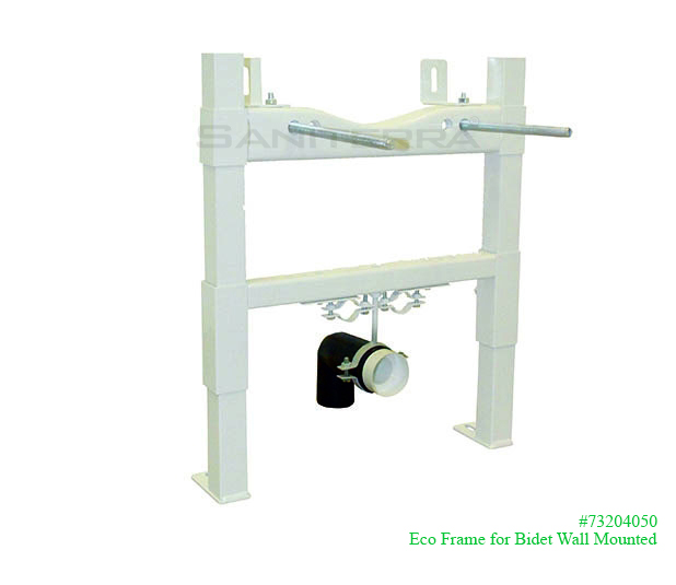 73204050-eco frame for wall hung (wall mount) bidet
