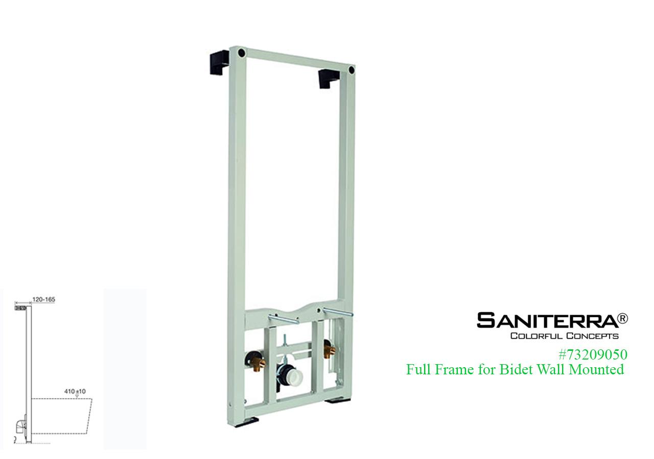 #73209050-full frame for wall mount bidet