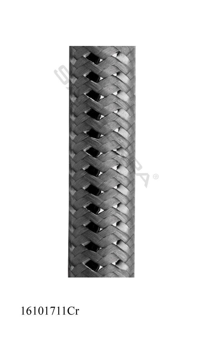 16101711Cr-bath/shower hose milano king