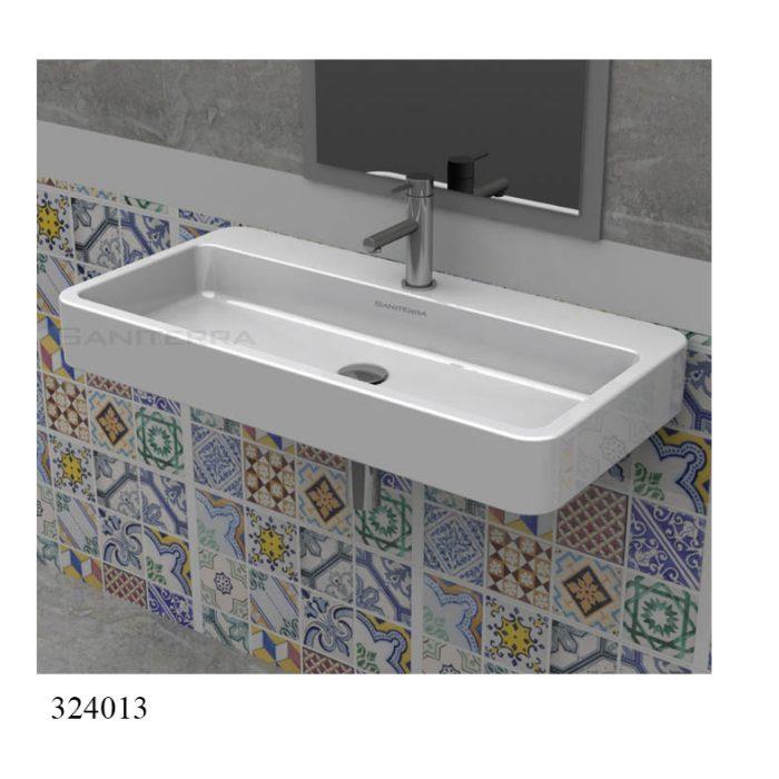 324013X-washbasin top counter moon