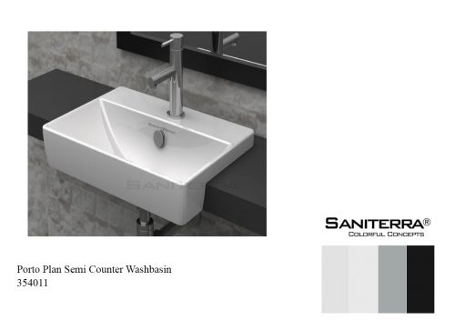 534011-washbasin semi counter porto plan